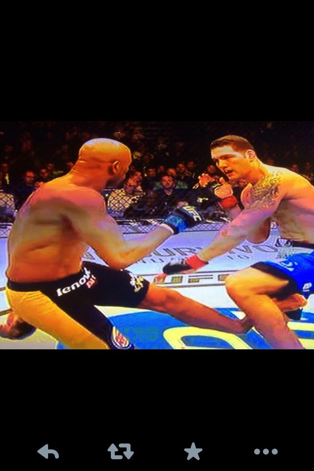 UFC 168, Anderson Silva vs. Chris Weidman.
